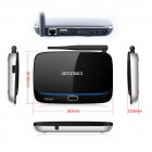 iTaSee IT808II + I8 Air Mouse Quad-Core Android 4.2 Google TV Player w/ 2GB RAM / 8GB ROM / HDMI  EU