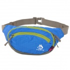 HASKY CY-084 Outdoor Sports Multifunctional Nylon Waist Bag - Deep Blue