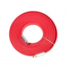 ULT-unite 8801-1105 HDMI V1.4 Male to Male Digital Audio / Video Flat Cable - Red (5m)