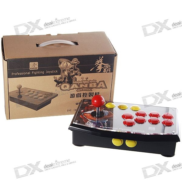 USB Arcade Joystick Controller for PC/PS3 (250CM-Cable)