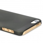 Protective Frosted PC Back Case for Iphone 5S - Black