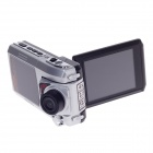 "HD-189 2.5"" TFT 12.0 MP CMOS 4X Digital Zoom Video Camcorder - Silver"
