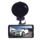 "HD-168A 2.7"" TFT LCD 1.3 MP CMOS 720P Wide Angle Car DVR Camcorder w/ G-sensor - Black"