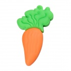 Cute Cartoon Turnip Style USB 2.0 Flash Driver Disk - Orange + Green (8GB)