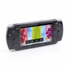 "JXD S602b 4.3"" Capacitive Screen Dual Core Android 4.1 Smart Game Console w/ Wi-Fi, G-Sensor - Black"