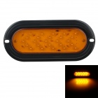 GF-6614 3.6W 108lm 590nm 25-LED Orange Light Car Tail Lamp - (12V)
