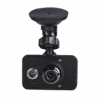 "HO-135 Anti-Shock 2.7"" LCD 5.0 MP CMOS Wide Angle Car DVR Camcorder w/ 2-IR LED / AV-Out - Black"
