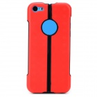S-What Protective TPU + PC Back Case for iPhone 5c - Red