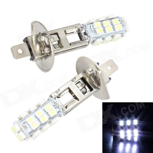 Merdia H1 5W 400lm 28 x SMD 3528 LED White Light Car Brake Light / Foglight - (12V / 2 PCS)