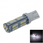 T10 / 194 / W5W 2W 120lm 14 x SMD 7020 LED Cool White Car Clearance lamp / Side Light - (12V)