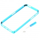 Ultrathin Protective Aluminum Alloy Bumper Frame for Iphone 5 / 5s - Light Blue