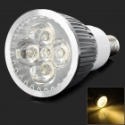 E14 5W E14 5W ''650''lm 3500K 5-LED Warm White Light Spotlight - Silver (AC 85~265V)