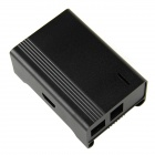 High Quality Protective Aluminum Alloy Case Enclosure Box for Raspberry PI Model B - Black