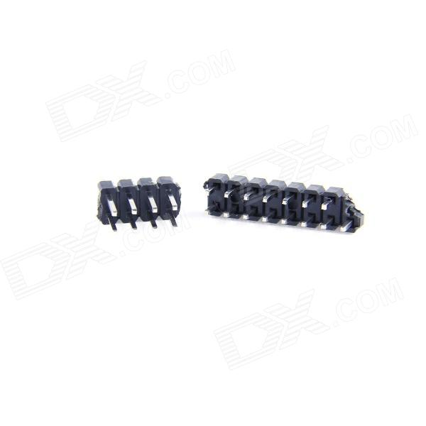 Motherboard Specified Extension Terminal for Raspberry PI - Black (2 PCS: 1 x 15-Pin + 1 x 8-Pin)