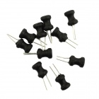 Jtron 100UH 3A Wirewound Power Inductor - Black (10 PCS)