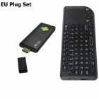 Ourspop MK9B + Rii Mini X1 Mouse Quad-Core Android 4.2.2 Google TV Player w/ 2GB RAM, 8GB ROM - EU