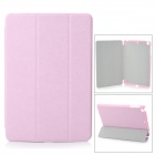 Protective PU Leather + PC Case for Retina Ipad MINI - Pink