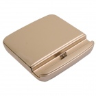 Charging Docking Station w/ Battery Charging Slot for Samsung Galaxy Note 3 N9000 - Golden