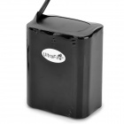 UltraFire 8.4V 6600mAh Rechargeable 6*18650 Li-ion Battery Pack- Black