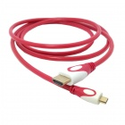 CY HD-143-RE HDMI V1.4 Male to Micro HDMI Male Adapter Cable for Phone / Tablet PC - Red (150cm)