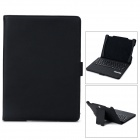 Detachable Bluetooth V3.0 64-Key Keyboard w/ Auto Sleep Protective Case for Ipad AIR - Black