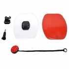 Fat Cat Ski/Skate/Surfing Board Adhesive Mount w/ Strap + 3M VHB for Gopro Hero 4/3+/3/2/1/SJ4000
