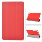 NILLKIN Protective Flip Open Case w/ Stand for Google Nexus 7 II - Red