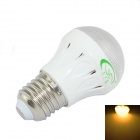 CF-LED-126-2 E27 3W 280lm 3000K 10-2835 SMD LED Warm White Bulb - White + Transparent (85V-265V)