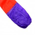 Waterproof Longer And Thicker + Villus Rubber Gloves - Red + Purple (Pair)