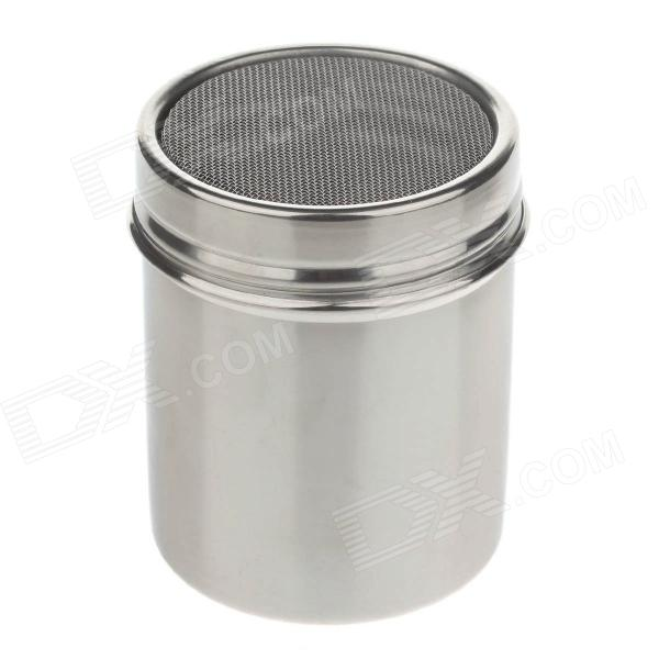 304 Stainless Steel Mousse Powder Cylinder - Silver (0.35L)