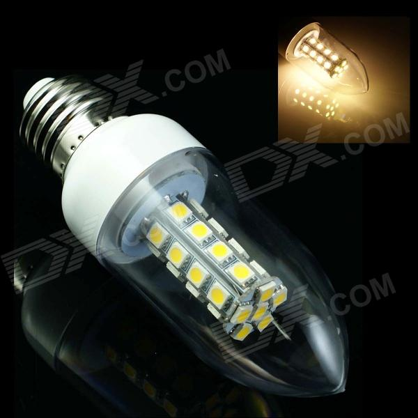 GCD K9 E27 4W 180lm 2500K 30-SMD 5050 LED Warm White Energy Saving Light Bulb (AC 85-265V) smart bulb e27 7w led bulb energy saving lamp color changeable smart bulb led lighting for iphone android home bedroom lighitng