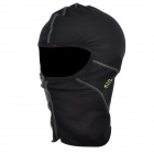 Santic c9006 Outdoor Radsport / CS Nylon + Spandex Gesichtsmaske - Schwarz