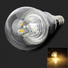 ZHISHUNJIA E14 5W 450lm 3000K 10-SMD 5730 LED Warm White Light Bulb (AC 85~265V)