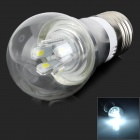 ZHISHUNJIA E27 5W 450lm 6500K 10-SMD 5730 LED White Light Bulb (AC 85~265V)