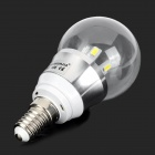 ZHISHUNJIA E14 5W 450lm 6500K 10-SMD 5730 LED Cold White Light Bulb