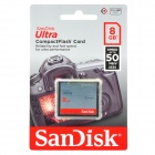 SanDisk 333X Ultra CompacFlash CF Card (8GB)