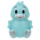 AD0981 Duck Style Body Massager - Blue (3 x AAA)