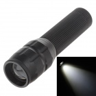 Small Sun ZY-516 200lm 6000K White Light Zooming Flashlight - Black (1 x AA)