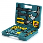 Household Hardware Tool Kit w/ Carrying Case (15 PCS)