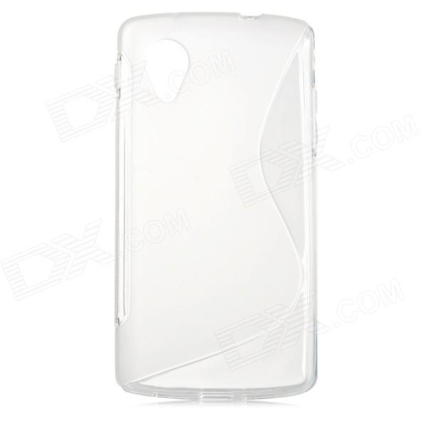 Protective TPU Back Case for LG Nexus 5 E980 / D820 - White