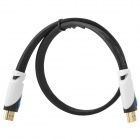 HDMI 1.4 Male to Male HD Connection Cable - Black (0.5m)