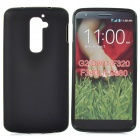 Anti-Slip Protective Frosted TPU Back Case for LG Optimus G2 / D801 / F320 - Black