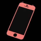 MOCOLL Premium Tempered Glass Screen Protector for Iphone 5 / 5s / 5c - Reddish Orange
