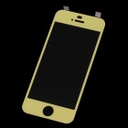 MOCOLL Premium Tempered Glass Screen Protector for iPhone 5 / 5s / 5c - Yellow