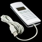 VOIP USB LCD Internet Phone for Skype with Wall Mount