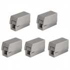 Jtron Connector 224-101 / Lighting Fixture Wire Connectors - Grey (5 PCS)