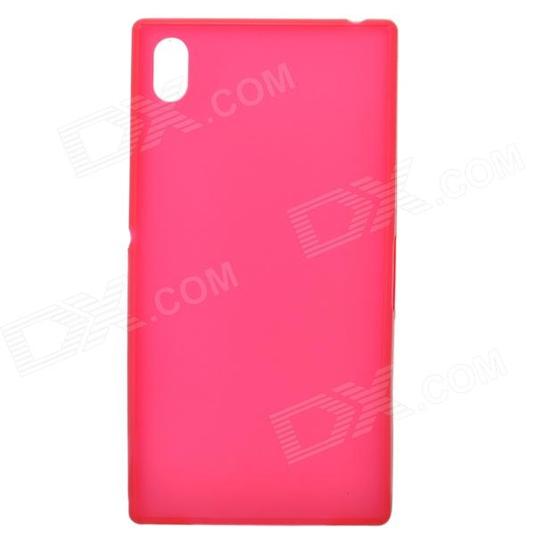 TEMEI Ultrathin Protective TPU Back Case for Sony Xperia Z1 L39h - Red смартфон sony xperia xa1 ultra dual