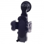 H101A Universal Shockproof Protection Car Holder Bracket for Mobile Phone - Black
