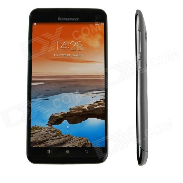 "Lenovo S930 Android 4.2 Quad-Core-Phone WCDMA Bar w / 6.0 "", Wi-Fi, GPS - Schwarz + Silber"