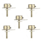Jtron Mini 7mm Stepper Motor / Small Division Rod with Slider -Silver (5 PCS)